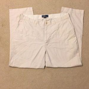 Ralph Lauren Men's Khaki Prospect Dress Pant